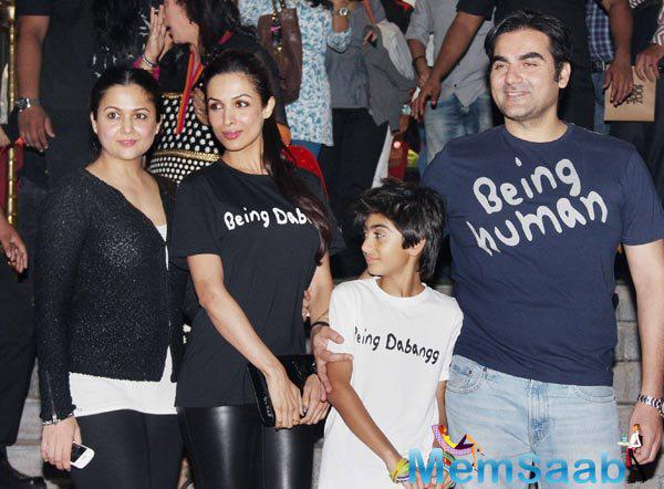 According to a Mumbai Mirror report, the families of Malaika and Arbaaz talked with each other to attain to a consensus.