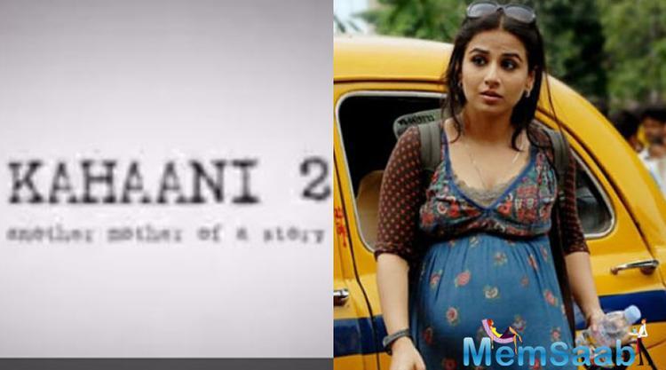 Vidya Balan wraps up 'Kahaani 2' shoot the sequel to the 2012 mystery thriller 'Kahani'.