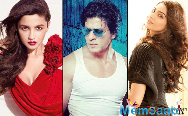 Now, the latest reports say that Alia Bhatt or Sonam Kapoor might star opposite Shah Rukh. This film has two heroines opposite SRK.