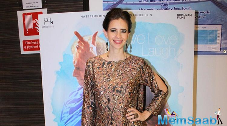 The director said Kalki struck me as someone who empathises with the world and is concerned about its issues.