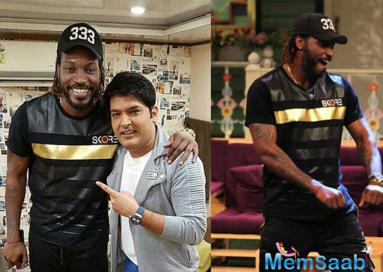 """Kapil took to Twitter on Saturday to present his """"mad friend""""."""