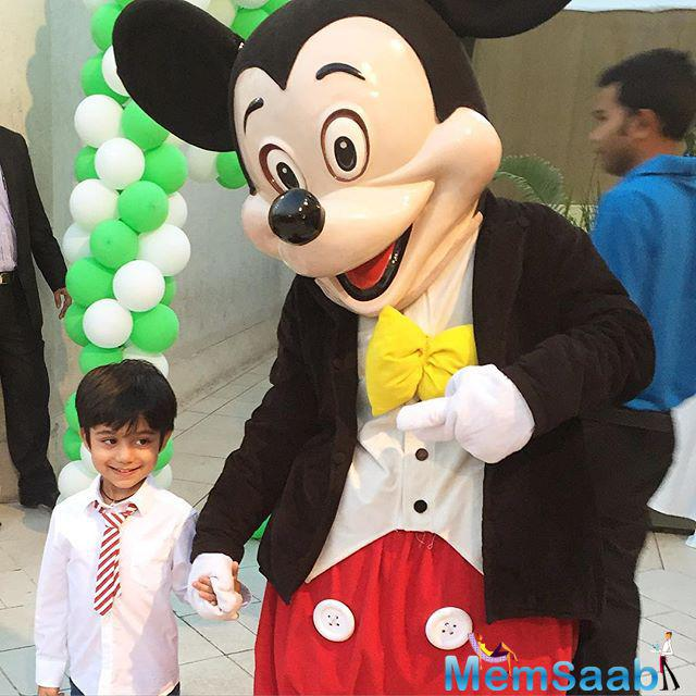 Actress Shilpa Shetty's son Viaan's grand birthday party on Saturday made way for several Kodak-worthy bits.