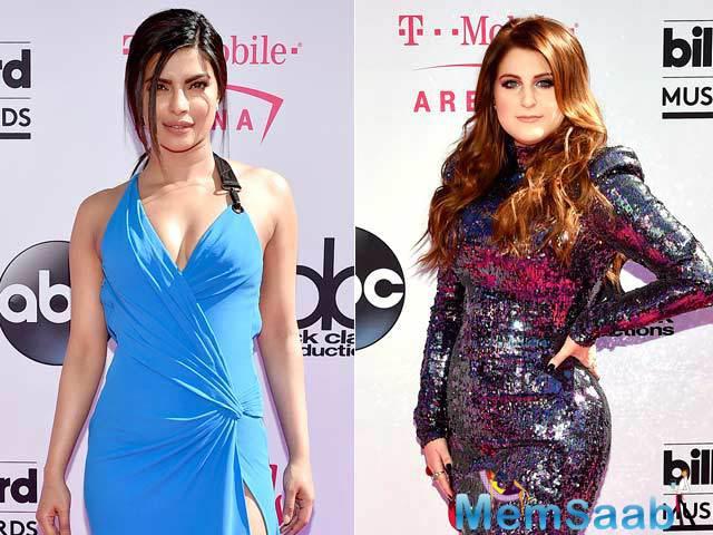 Apart from Priyanka, Rihanna, Kesha, Britney Spears, Ariana Grande and Jessica Alba also attended the Award ceremony