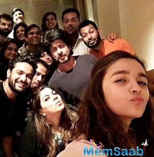 Alia and SRK have wrapped up shooting for director Gauri Shinde's untitled film