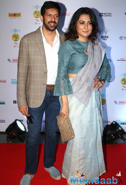 Bajrangi Bhaijaan director Kabir Khan was accompanied by his wife Mini Mathur