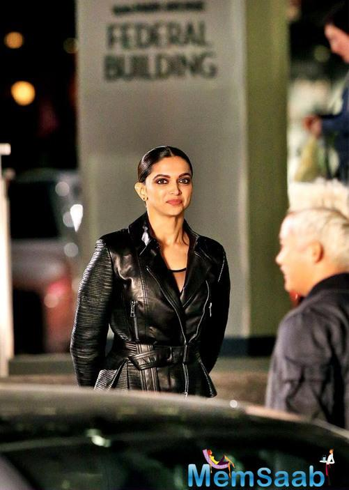 """It's Deepika's last day shoot for """"xXx"""" and she looks hot as ever. She looks fiery in the new stills from the movie and has been making our wait more difficult."""