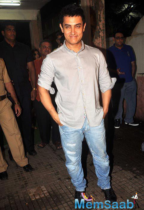Aamir Khan will next be seen on screen in the film 'Dangal'. This film is scheduled to release on December 23.