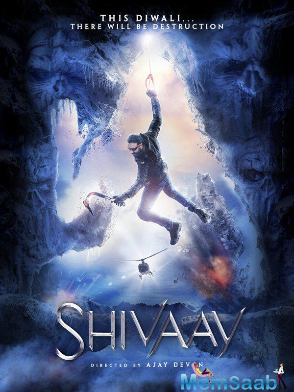 In the poster, Ajay is seen standing atop a Shiva carved out of meth with his shoes along. Obviously, this has hurt the spiritual views of the followers of Lord Shiva and those following Hinduism.