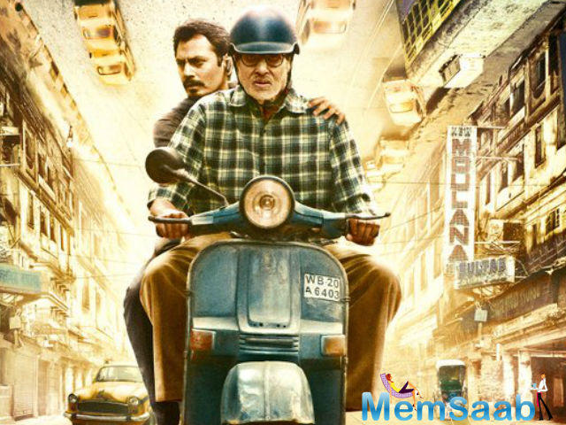 Shot entirely in Kolkata, TE3N is a thriller where Vidya, Nawazuddin and Amitabh Bachchan investigate a kidnapping similar to an eight year old case.