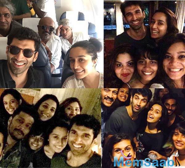 Aditya Roy Kapur and Shraddha Kapoor have wrapped the shooting for their next, Ok Jaanu . The film directed by Shaad Ali.
