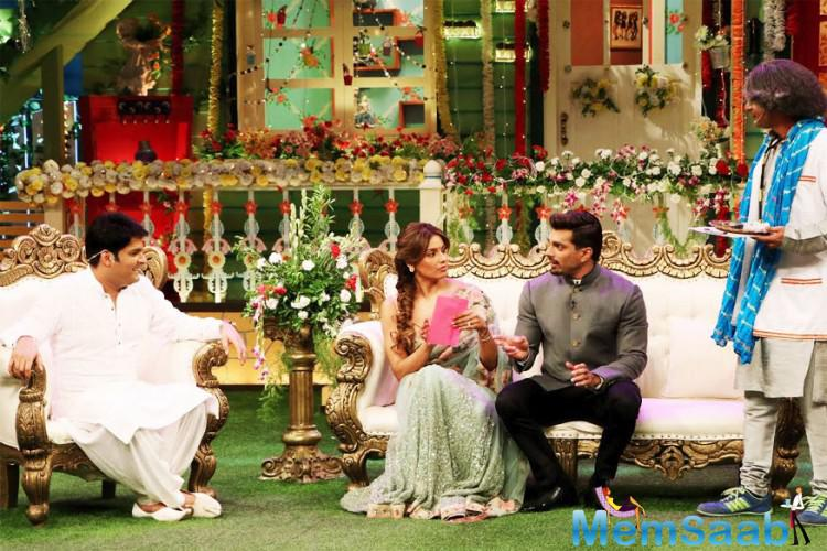 This was the couple's first appearance in any show after their grand wedding in April.