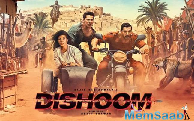 John said, When I heard the script of Dishoom, the first thing that I told Sajid Nadiadwala and Rohit Dhawan was that Dishoom will go up to Dishoom 8 because this is a very young, action adventure franchise.