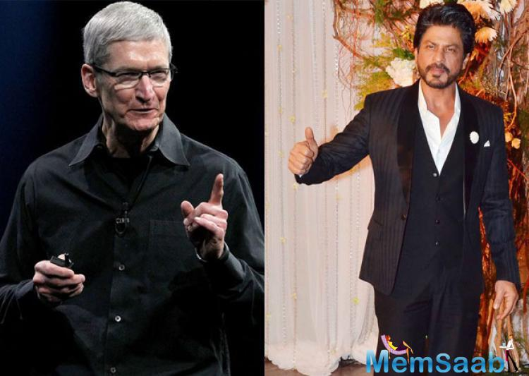 Interestingly, it may be recalled that a while ago Apple CEO Tim Cook had visited India. Moreover, in order to celebrate his visit SRK organized a gala dinner at his residence Mannat.