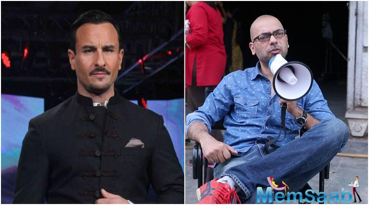 Reports suggest that Saif new film with Akshat Verma is titled Kala Kaanti