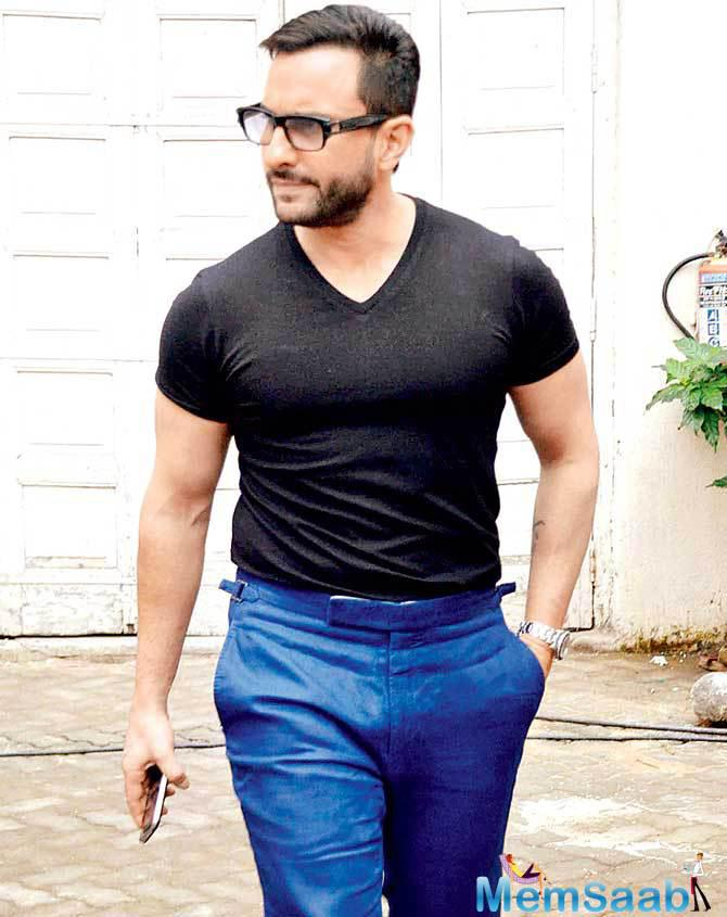 Saif Ali Khan said that his film with newcomer director Akshat Verma is different from Delhi Belly, which was written by Akshat.