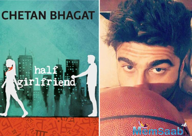 Arjun is seen in a sporty avatar playing basketball. The actor will be playing the character of a national-level basketball player, Madhav Jha in the film.