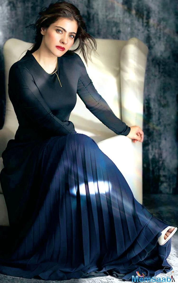 """Talking about her parenting style, Kajol says that it's all about setting the rules straight. """"I hope I am a balanced mother. I am on the stricter side for sure."""