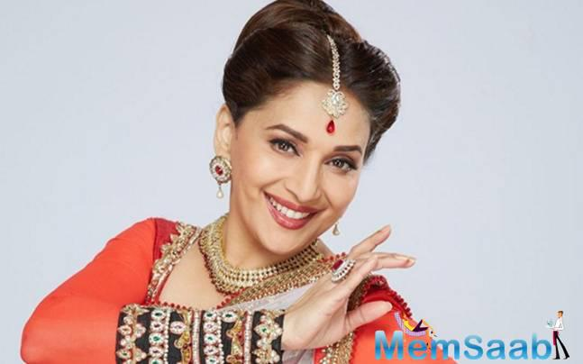 Madhuri, often called the 'Dhak Dhak Girl' of Bollywood, is a judge of the TV show, which is aired on &TV
