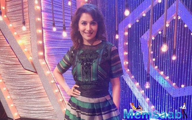 Madhuri words I have always been choreographed in my entire career till date and I always wanted to choreograph.