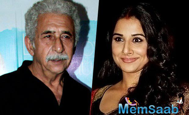 Vidya Balan, who is presently busy for Te3n promotion, told IANS: