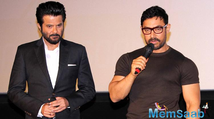 "Aamir Khan has always been a leader and inspiration. He is younger than me and sometimes you learn from them,"" Anil told reporters at the trailer launch of 24."