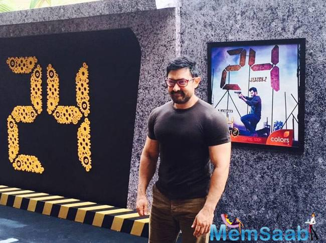 Aamir Khan unveiled the trailer for the second season of the thriller show 24
