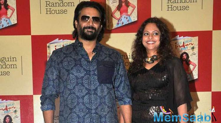 Madhavan and his wife Sarita are celebrating their wedding anniversary in the Himalayas. He states they have clocked 25 years of togetherness and 17 years of wedlock.