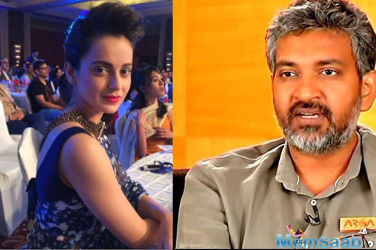Baahubali: The Beginning' director SS Rajamouli and Bollywood queen Kangana on Thursday were felicitated with the CNN-News18 'Indian of the Year' 2015 award by Finance Minister Arun Jaitley for their contribution to the field of cinema.