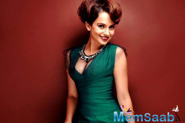 Kangana, who has recently won three National Awards for her versatile acting in films,  was given the Special Achievement award for