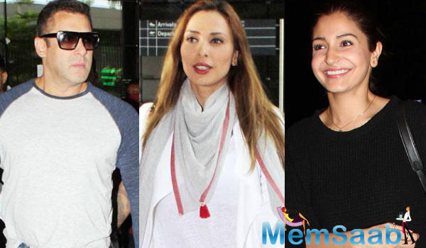 A new friendship is budding in the B-Town, as it has been revealed that Salman Khan's girlfriend Iulia Vantur is getting along with Sultan's co-star Anushka Sharma.