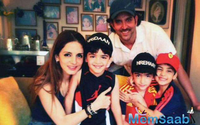 Finally, interior designer Sussanne Khan has spoken about why she decided to end her marriage with Hrithik.