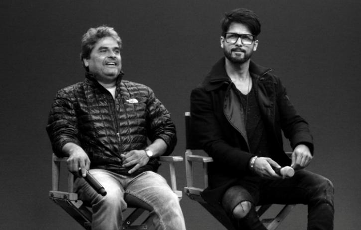 Shahid Kapoor, who was working with director Vishal Bhardwaj's in Kaminey and Haider, said that he considers the filmmaker as acclaimed director Martin Scorsese in his life.