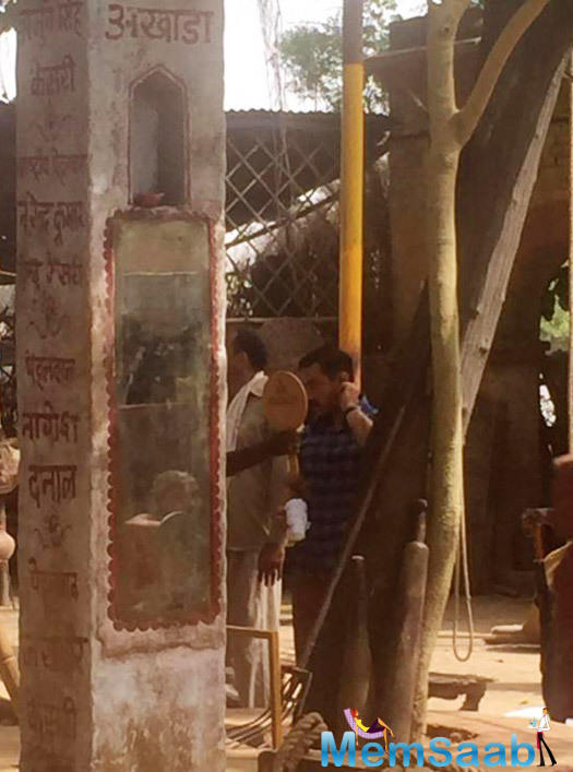 Aamir is currently in Ludhiana for the shooting of his upcoming flick Dangal.