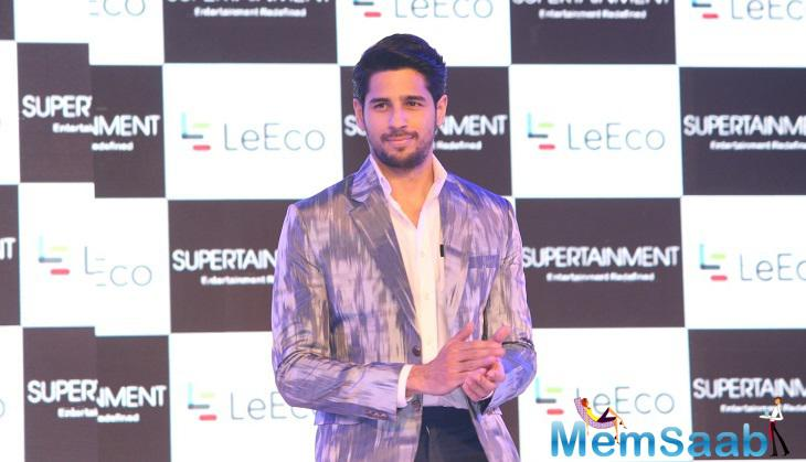 Sidharth, who is currently shooting for a film in Miami with actress Jacqueline, said
