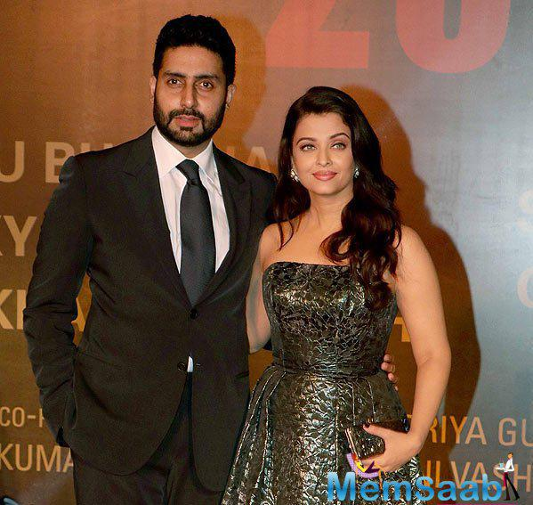 Abhishek Bachchan says he is very proud of wife Aishwarya Rai Bachchan's performance in her recent movie, Sarbjit.