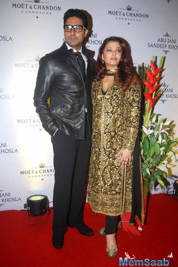 He says those looking for gossip will be disappointed as all is well between him and wife Aishwarya Rai Bachchan. (AFP)