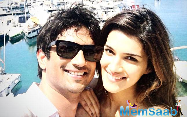 Actress Kriti Sanon, who was rumoured to be dating her