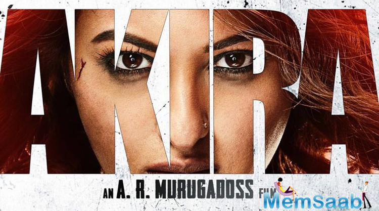 The teaser poster of upcoming action drama Akira is out now, very talented Sonakshi Sinha all geared up for some severe action.