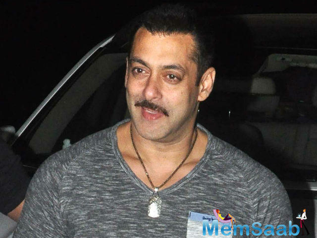 In a recent interview, the 50-year-old Salman express  that he felt like a