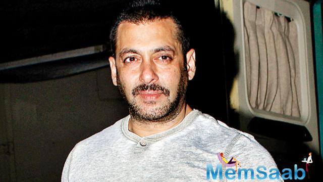 In a recent interview Salman answered a question how difficult it was to shoot wrestling scenes for the movie, he said: