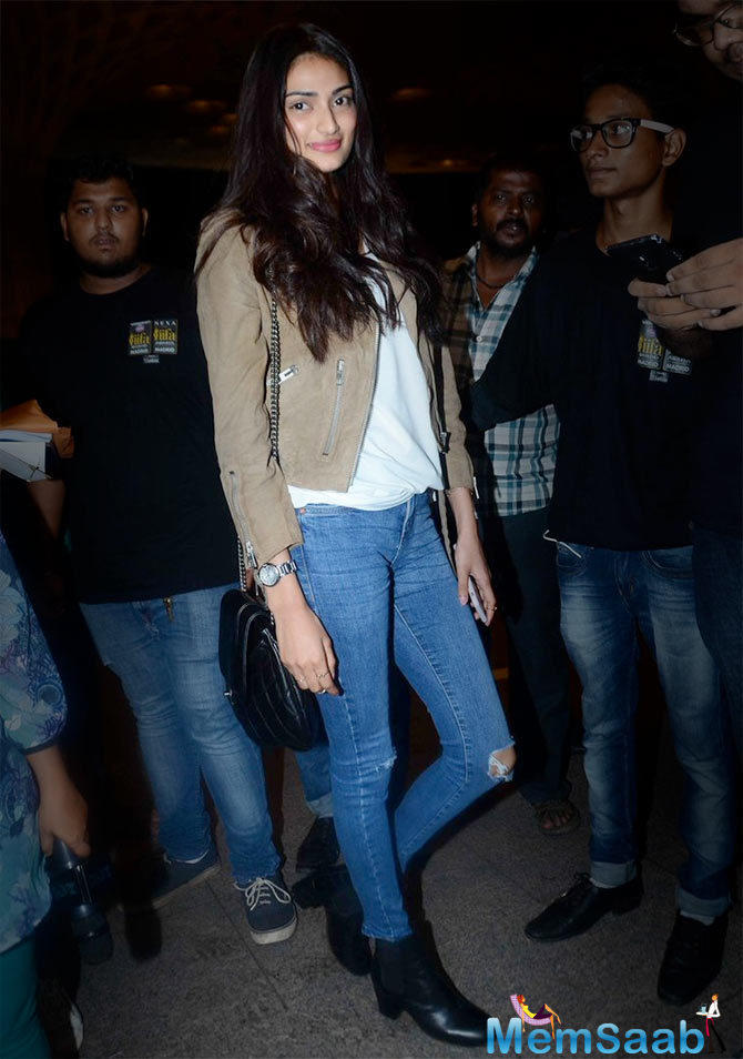 The Hero actress Athiya Shetty will next be seen in Sanjay Dutt's action film.