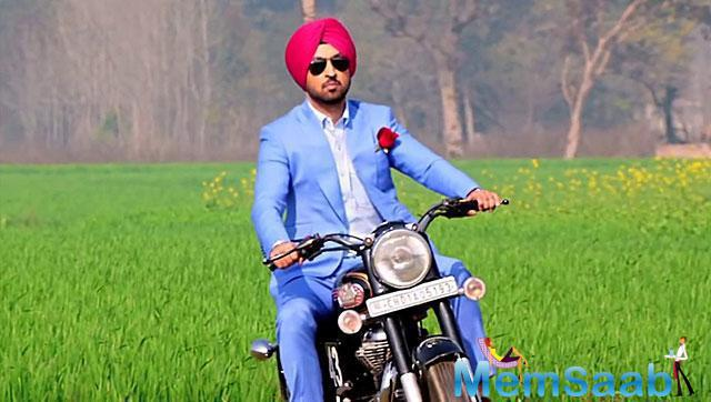 It would be better to suppose that Diljit Dosanjh's career in Bollywood has got off with a blast.
