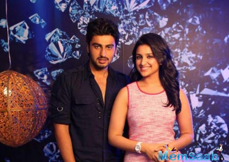 B. Town stars Parineeti Chopra and  Arjun Kapoor  made a stunning, well-received debut together in Ishaqzaade and have gone on to build their own careers in Bollywood.