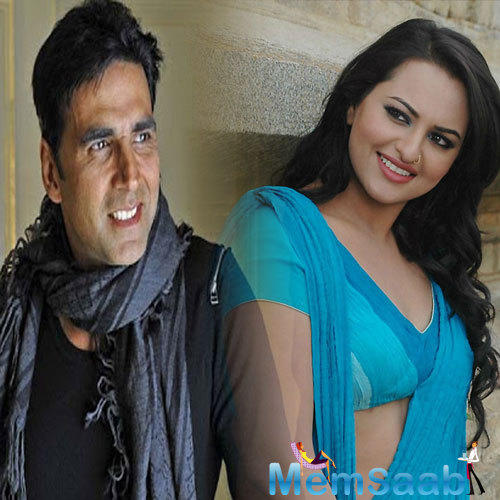 Akshay Kumar is excited for Akira, he cannot wait to watch the film, in which Sonakshi will be seen performing martial arts.
