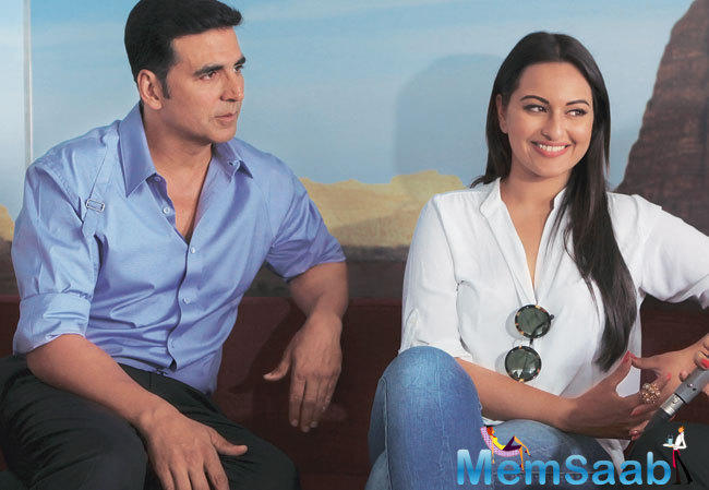 Akshay Kumar, who was working with Sonakshi Sinha in Rowdy Rathore, Holiday and Once Upon a Time in Mumbai Dobaara, can't wait to watch her upcoming flick Akira.
