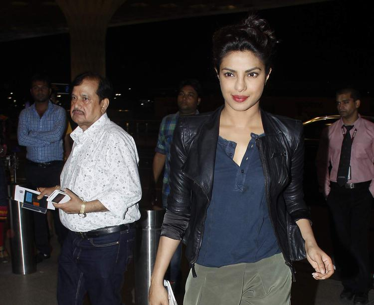 Priyanka won the Best Supporting Actress at the IIFA awards for her role in Bajirao Mastani.