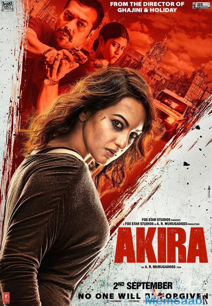 """Check out the first look poster of Sonakshi Sinha new movie """"Akira"""", which reveals her fierce fighter avatar '"""