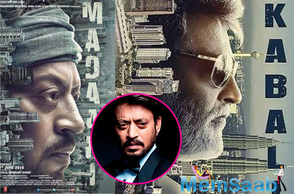 During a promotional event of Madaari in Mumbai, Irrfan had said makers of Rajnikanth's film stole the poster of his upcoming movie.