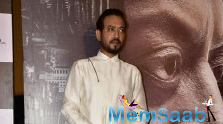 Talking about Madaari, Irrfan said the movie is about the realization of an individual that there is a hero inside him.