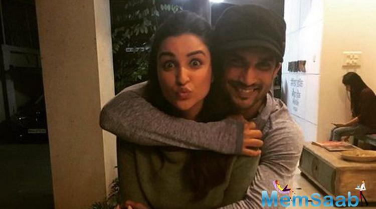 Parineeti Chopra and Sushant Singh Rajput were last seen together in the film 'Shuddh Desi Romance'. The two stars mesmerized the audience with their sizzling chemistry in the